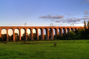 Photo of viaduct - to be replaced!